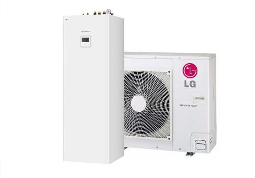 Pompy ciepła ThermaV LG ThermaV Split ze zintegrowanym zasobnikiem CWU