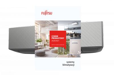 Nowy cennik klimatyzacji Fujitsu 2020